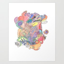 Drawing #5 Art Print