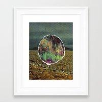 portal Framed Art Prints featuring portal  by delilah jones
