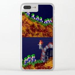 Inside Lemmings Clear iPhone Case