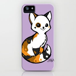 Yinyang Sister: Tortie iPhone Case