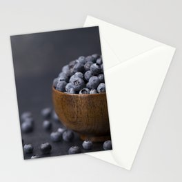 Fresh Blueberries Stationery Cards