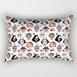Horror Villains Pattern Rectangular Pillow