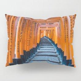 Fushimi Inari-taisha in Kyoto, Japan Pillow Sham