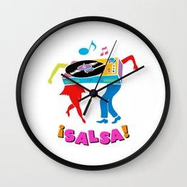 Salsa dance Wall Clock