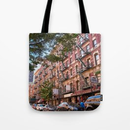 Lower eastside new york Tote Bag