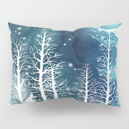 Winter Night 2 Pillow Sham