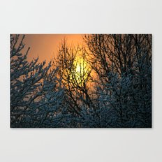 The Sun Shines Forth Canvas Print