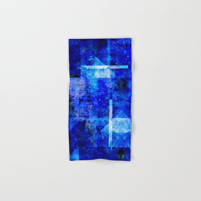 Sapphire Nebulæ Hand & Bath Towel