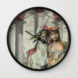 I BEG YOUR PARDON Wall Clock