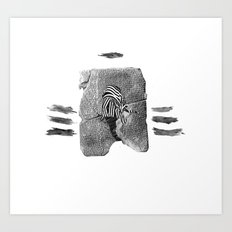 Gilgamesh & Vos Art Print