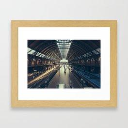 Sao Paulo Train Station Framed Art Print