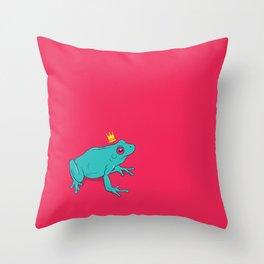 Frawg Throw Pillow