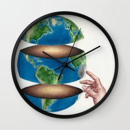 Human Touch Wall Clock