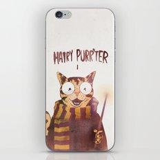 HAIRY PURR'TER iPhone & iPod Skin
