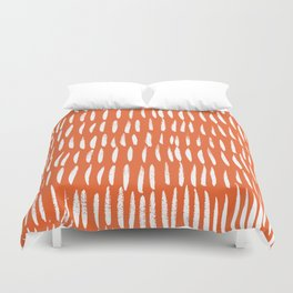 Brush Stroke Staccato Duvet Cover