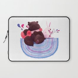 Bear & Bunny Laptop Sleeve