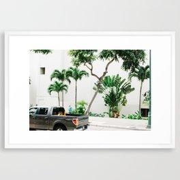 vctn 06 Framed Art Print
