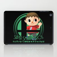 super smash bros iPad Cases featuring Villager - Super Smash Bros. by Donkey Inferno