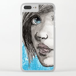 Shannon Clear iPhone Case