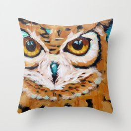 Hunter's Stare Throw Pillow