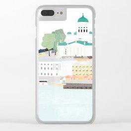 Helsinki oh Helsinki Clear iPhone Case