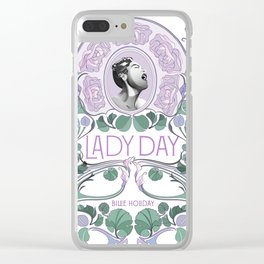 Lady Day Clear iPhone Case