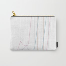 Intertwined Strength and Elegance of the Letter J Carry-All Pouch