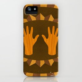 The ASL Marquetry - (ASL Marquetry Series) iPhone Case
