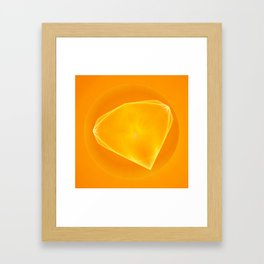 Goldstone Framed Art Print