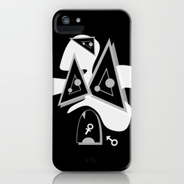 PRiOR BLACK SiDE ver. (Original Characters Art by AKIRA) iPhone Case