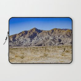 Looking Back towards Granite Mountain across the Highway in the Anza Borrego Desert State Park Laptop Sleeve