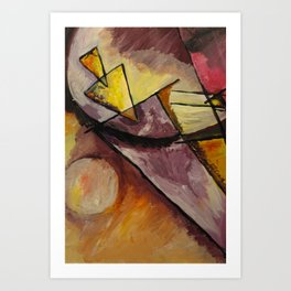 Abstract Forms Art Print