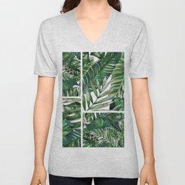 green garden Unisex V-Neck