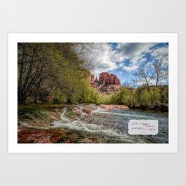Cathedral Rock, AZ Art Print