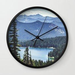 Dewey Lake, Washington Wall Clock