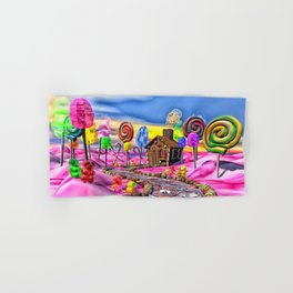 Pink Candyland Hand & Bath Towel