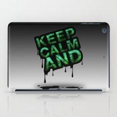 Keep Calm And.... iPad Case