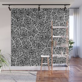 Infinite Snake Pattern Wall Mural