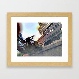 Chicago Bridge Framed Art Print