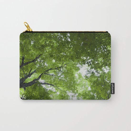 Leaves and Lace Carry-All Pouch