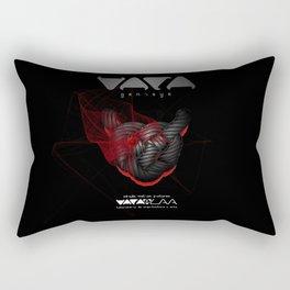 """Vaca - MP: """"Vaca - Genisys"""" Rectangular Pillow"""