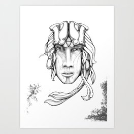 Sieldonja Re:Merging Art Print