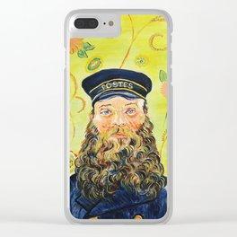 Joseph Roulin Clear iPhone Case
