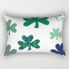Cray Shamrocks Rectangular Pillow