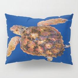 Loggerhead sea turtle Pillow Sham