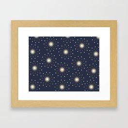 Mesmerizing Stars Framed Art Print