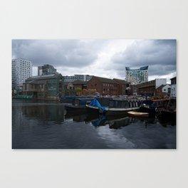 Regency Wharf Birmingham Canvas Print