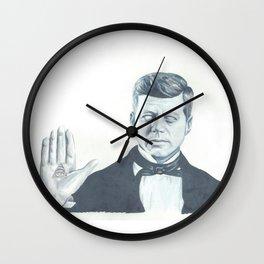 JFK Illuminati  Wall Clock