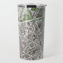 Sevilla city plan Travel Mug