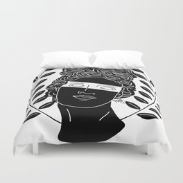 The Muse Duvet Cover